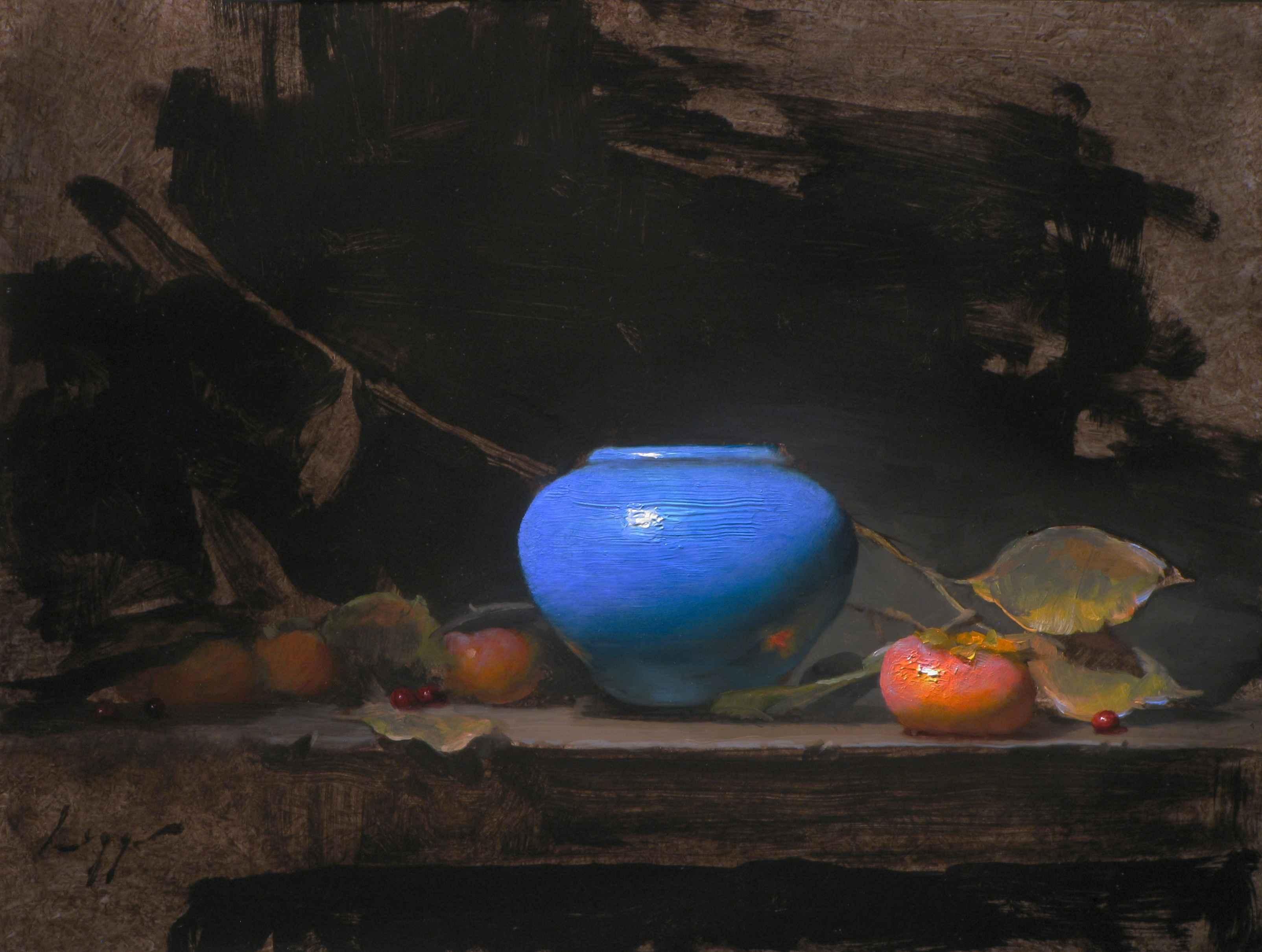 Resplendent Blue by  Jeff Legg, OPAM - Masterpiece Online