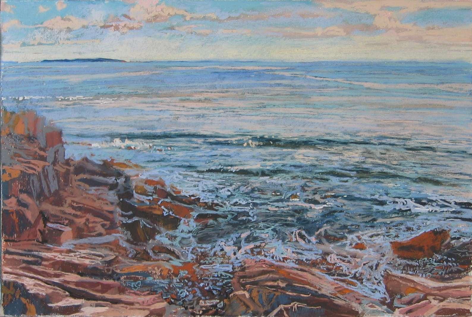 Eastern Beach by  Daud Akhriev - Masterpiece Online