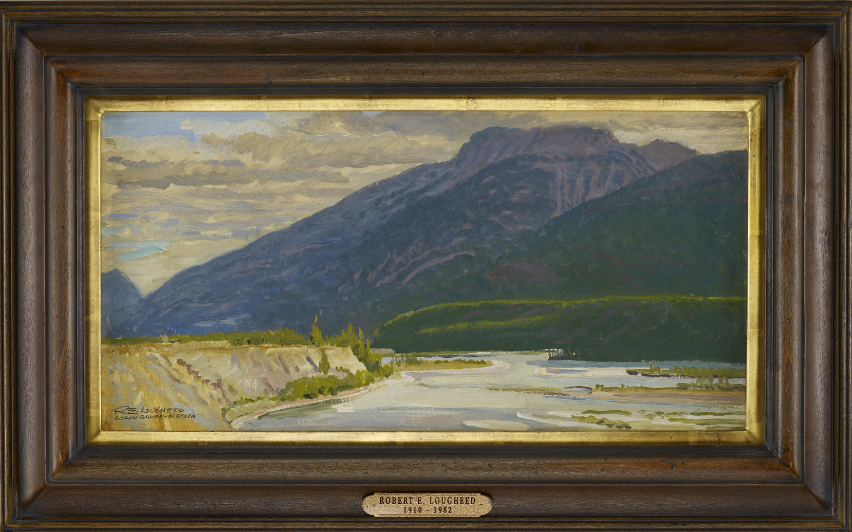 Colin Range, Alberta by  Robert Lougheed - Masterpiece Online