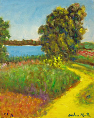 River Bank of Colors by  Andres  Morillo - Masterpiece Online