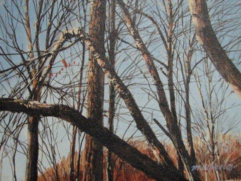 Trees in Evening Sunl... by  Michael Wheeler - Masterpiece Online
