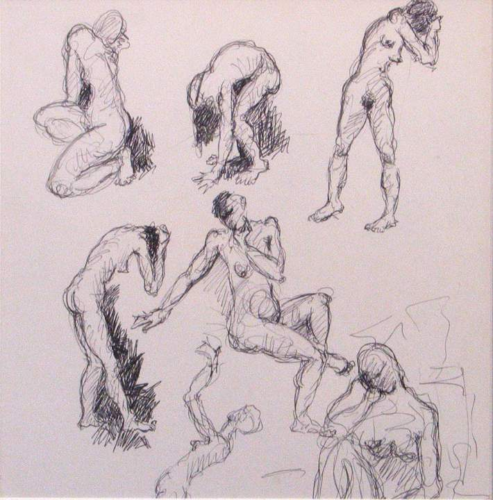 Seven Figures by  Tom Maley - Masterpiece Online