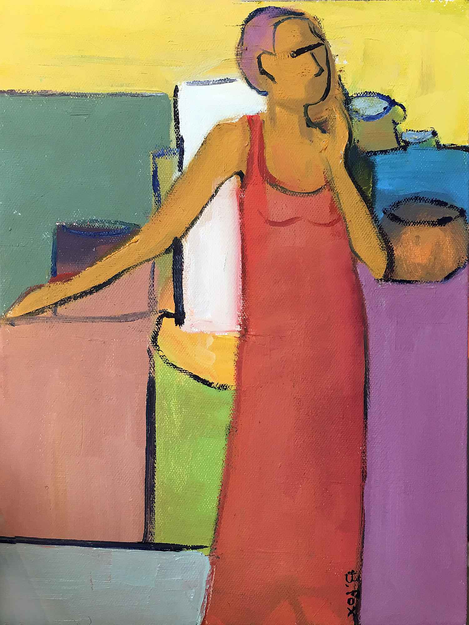 What's for Dinner by  Brenda Fox - Masterpiece Online