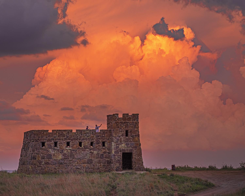 On the Castle, Corona... by  George Jerkovich - Masterpiece Online