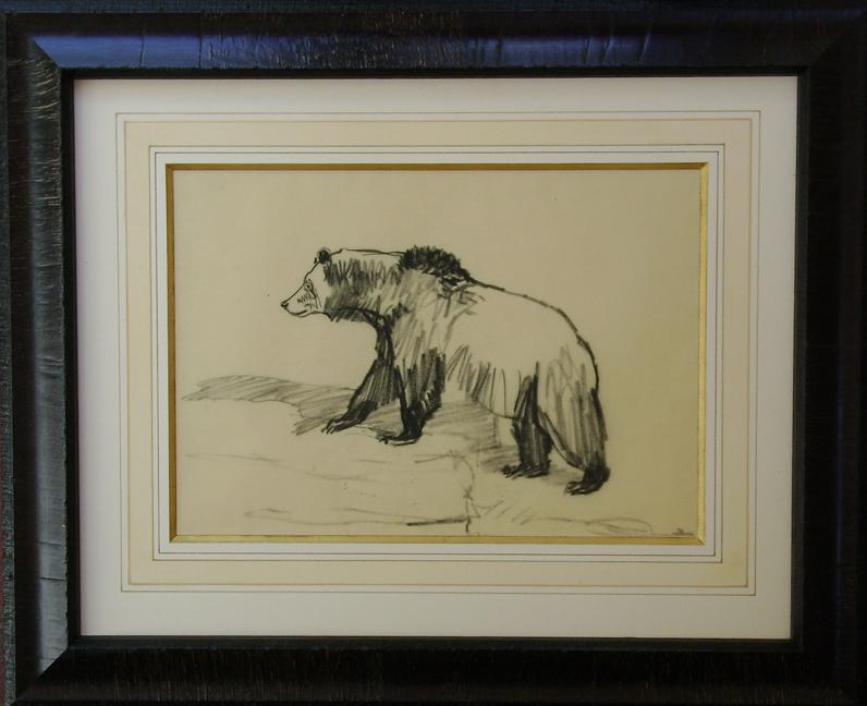 Bear Climbing by  Robert Lougheed - Masterpiece Online