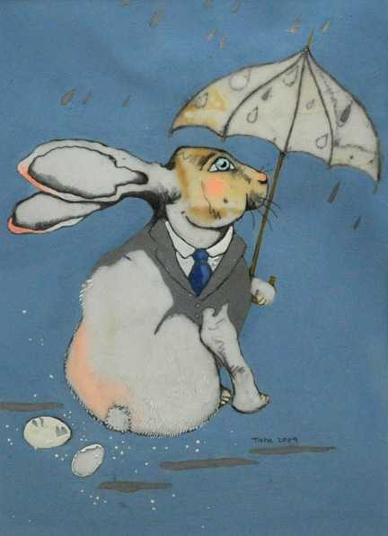 Raining Cats and Dogs by  Tisha Weddington - Masterpiece Online