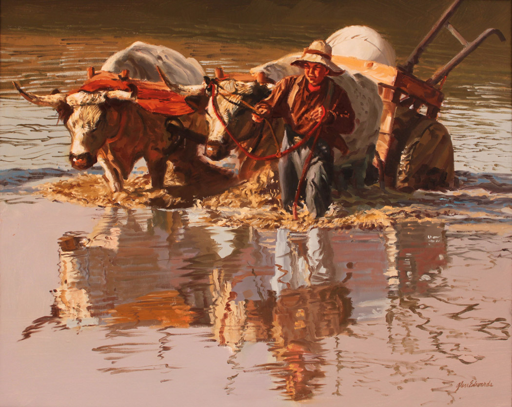 SOLD- Muddy Bottom by  Glen Edwards - Masterpiece Online