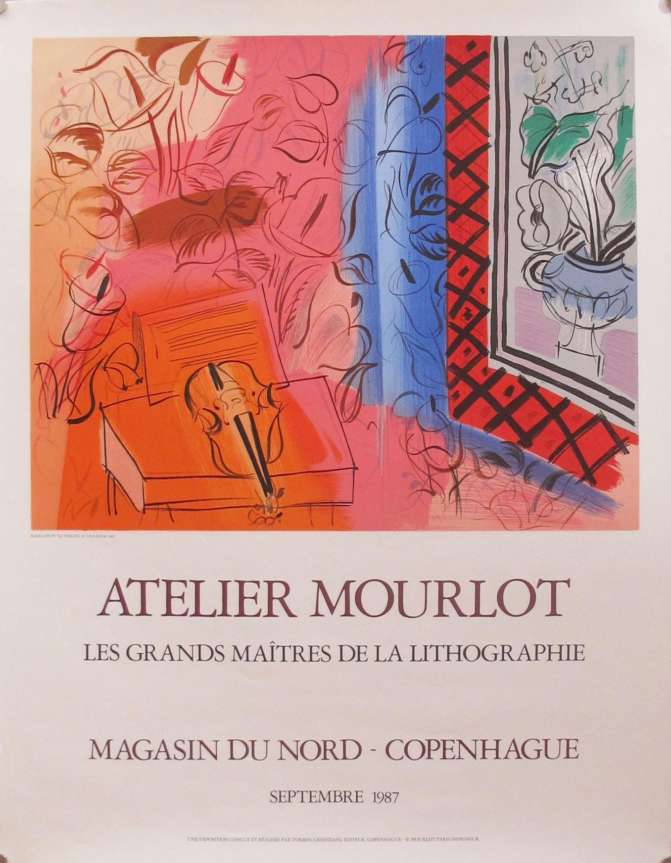 Le Violon - Atelier M... by  Raoul Dufy - Masterpiece Online
