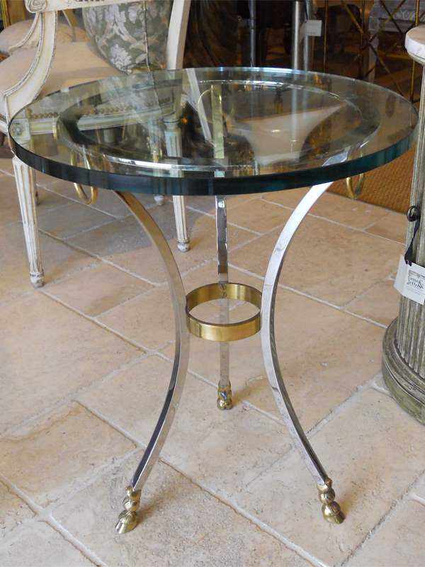 Round Accent Table by  French  - Masterpiece Online