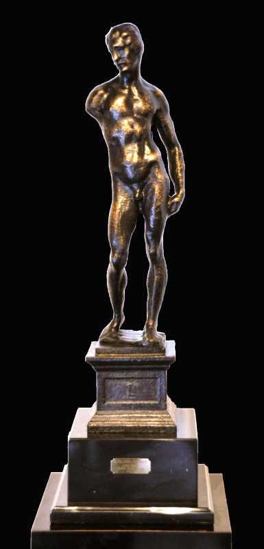 Nudo Virile by  Michelangelo  - Masterpiece Online