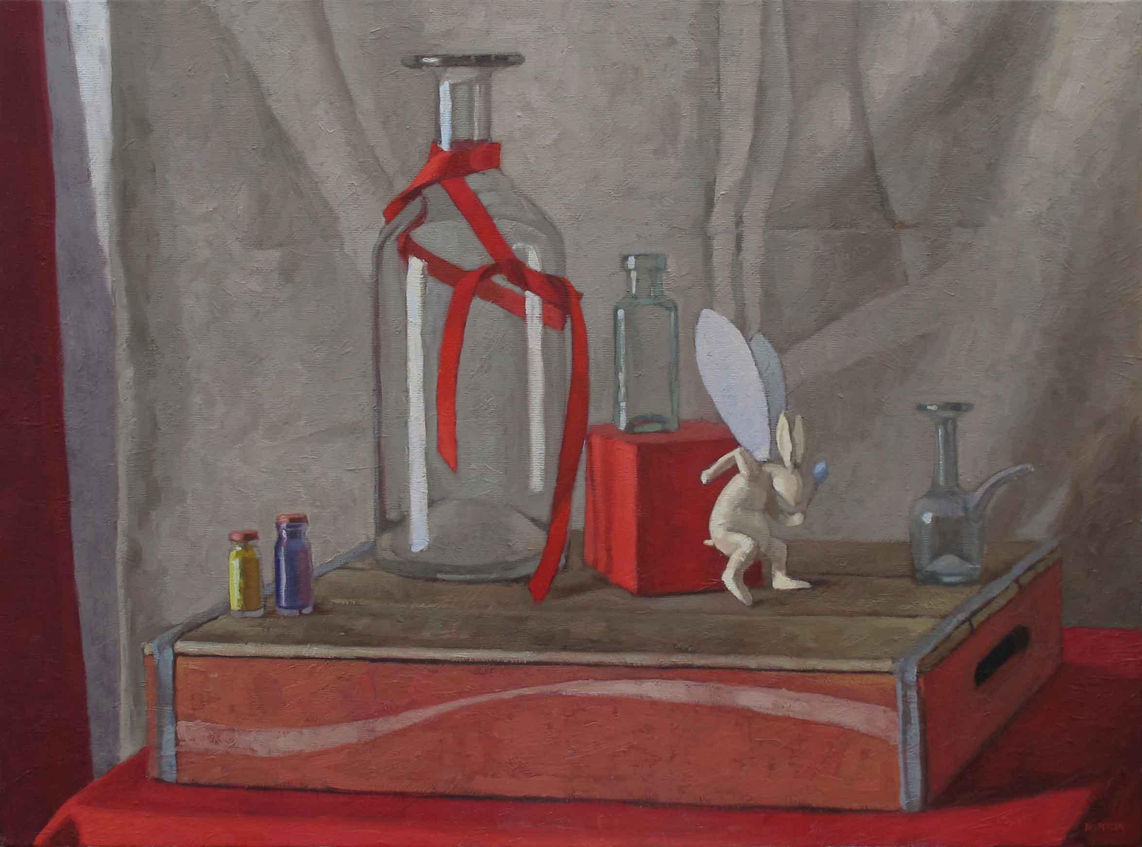 On a Rabbit's Wings (... by  Melissa Hefferlin - Masterpiece Online