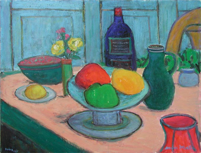 Breakfast Table by  Andres  Morillo - Masterpiece Online