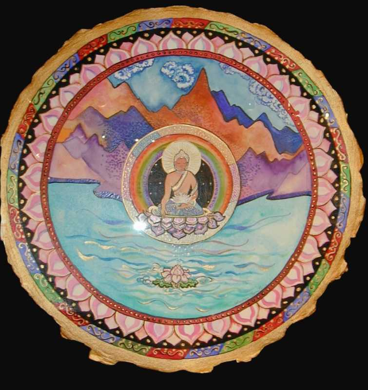 Tibetan Prayer by  Andrea Smith - Masterpiece Online