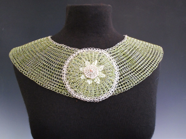Pale Green Collar wit... represented  by  Arline  Fisch
