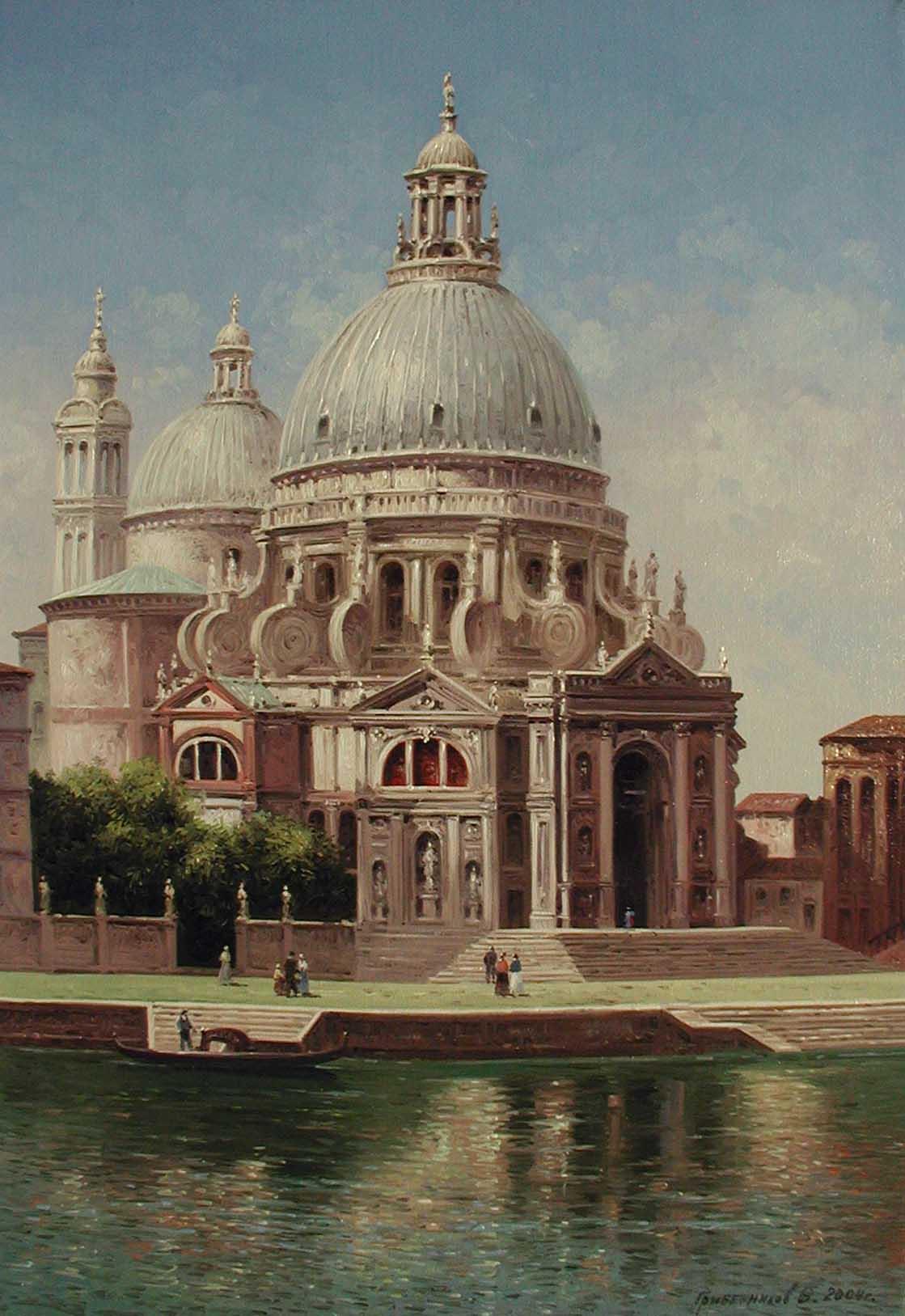Chiesa Della Salute by  Vasily Gribennikov - Masterpiece Online
