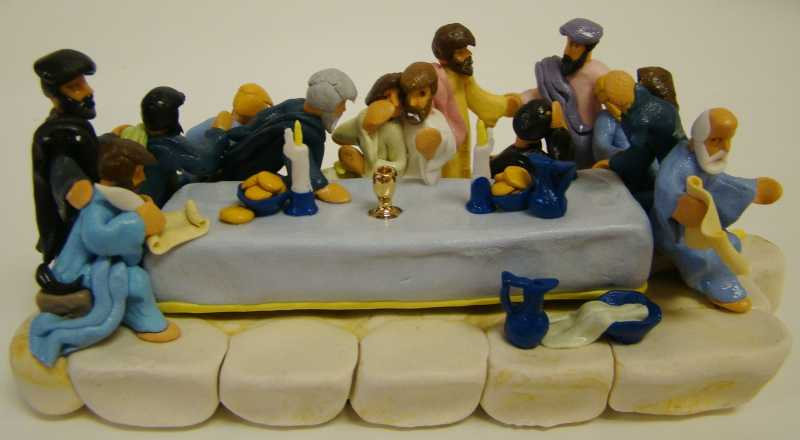 OD132 The Last Supper by  Old Dog Boyd - Masterpiece Online
