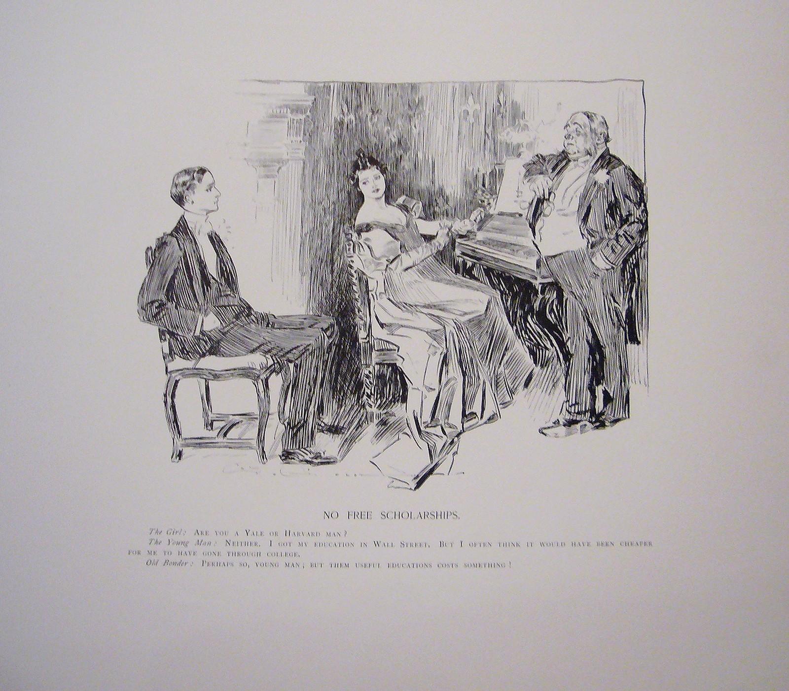 Gibson girls - piano ... by  Charles Dana Gibson  - Masterpiece Online