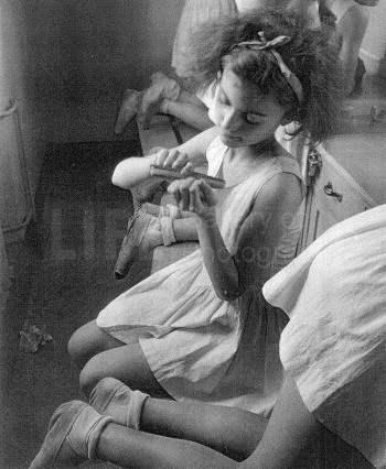 Young Ballerina by  Alfred Eisenstaedt - Masterpiece Online