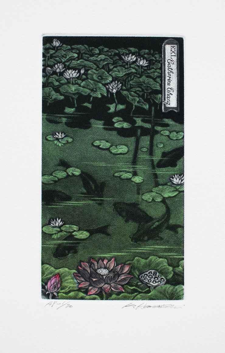 Lotus Family by  Katsunori Hamanishi - Masterpiece Online