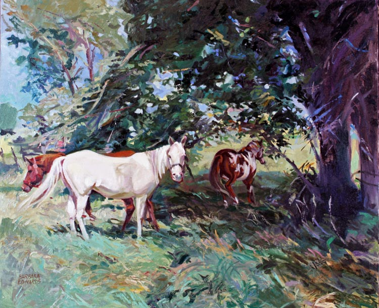 High Noon by  Barbara Summers Edwards - Masterpiece Online