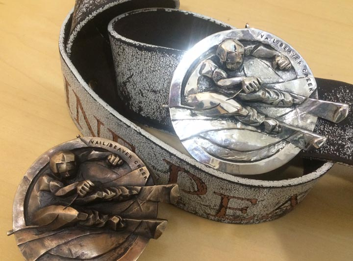 The Edge Silver Buckl... by Mrs. Gail Folwell - Masterpiece Online