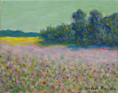 Lavender Field by  Andres  Morillo - Masterpiece Online