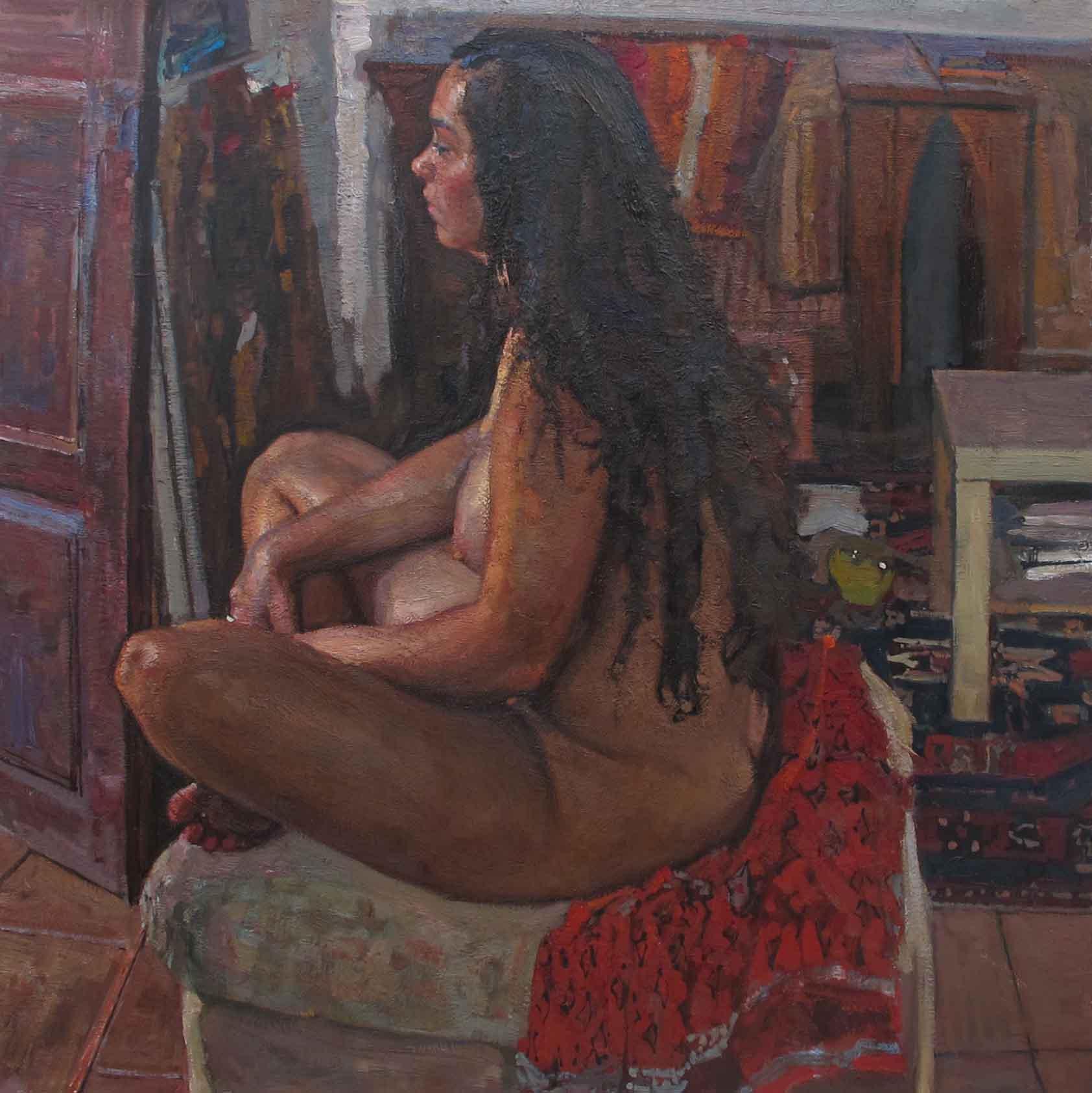 Through the Open Door by  Daud Akhriev - Masterpiece Online