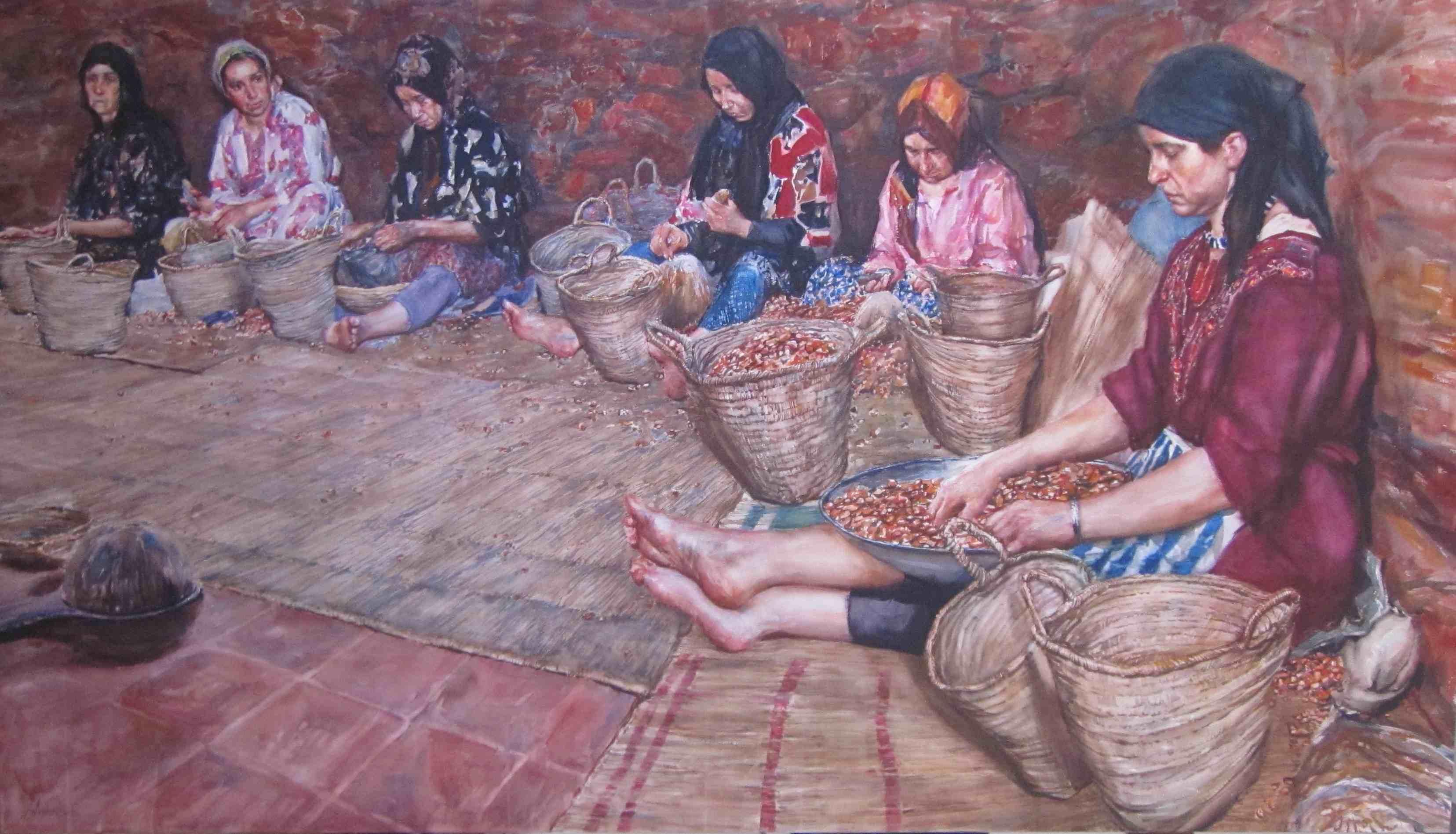 Women of the Argon Co... by  Daud Akhriev - Masterpiece Online