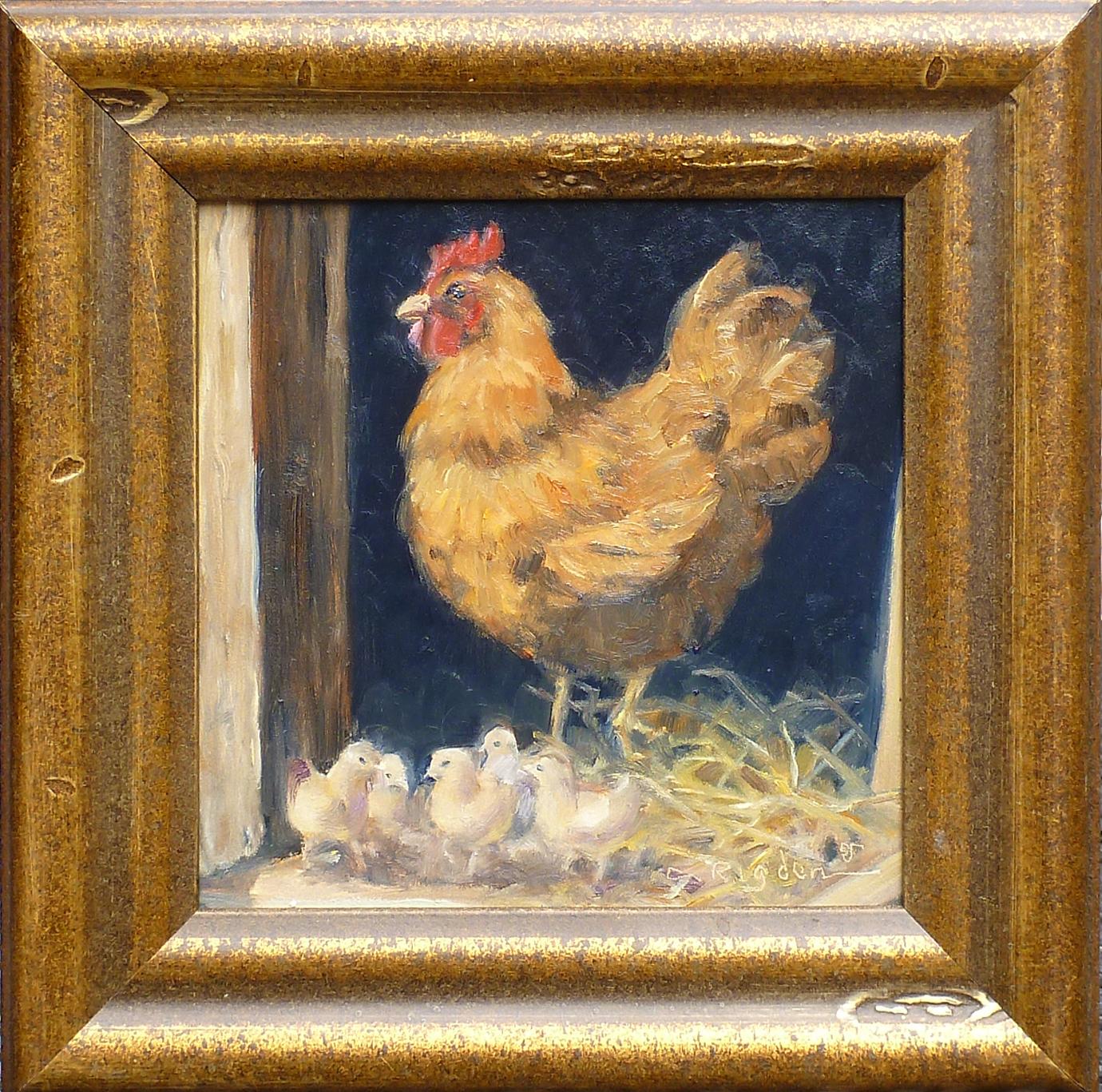 Hen & Chicks by Ms. Cynthia Rigden - Masterpiece Online