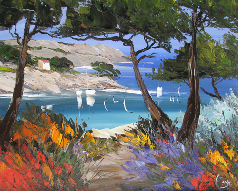Cypress Cove by  Louis  Magre - Masterpiece Online