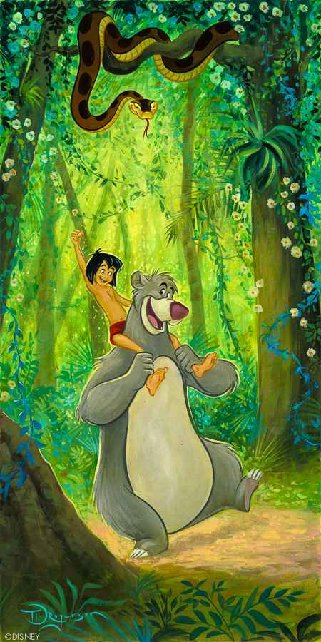 Baloo's Buddy by  Tim Rogerson - Masterpiece Online