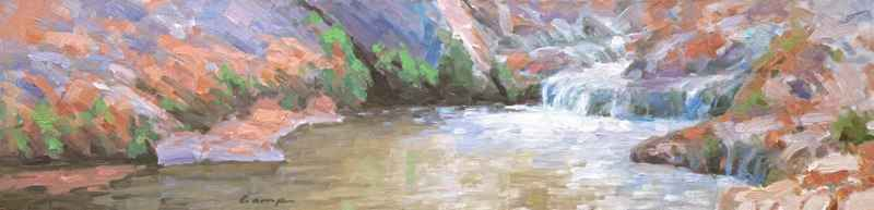 Lightly Flows by  David Camp - Masterpiece Online