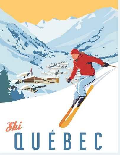 KBE - Ski Quebec (Lar... by  Steve Thomas - Masterpiece Online