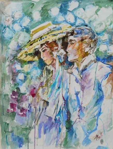 Untitled Man & Woman  by  Marta Wiley