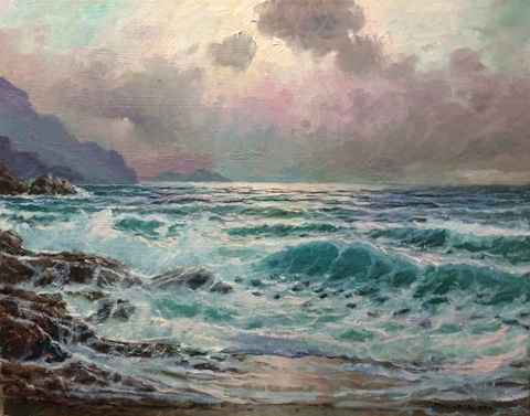 Big Sur Shimmering by  A Dzigurski II - Masterpiece Online