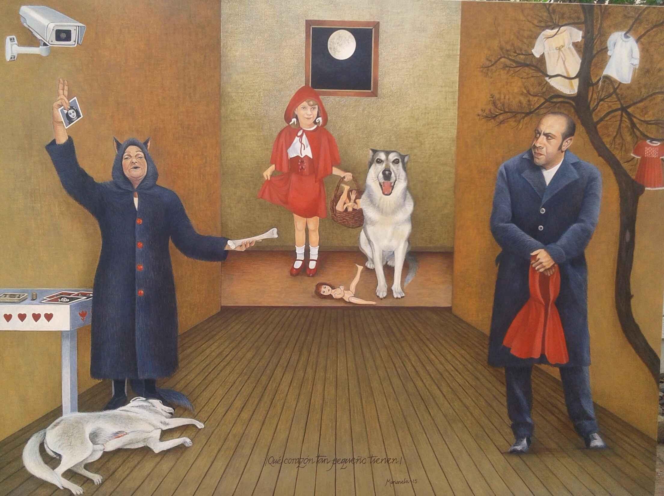 LITTLE RED RIDING HOO... by Mrs. MARIANELA DE LA HOZ - Masterpiece Online