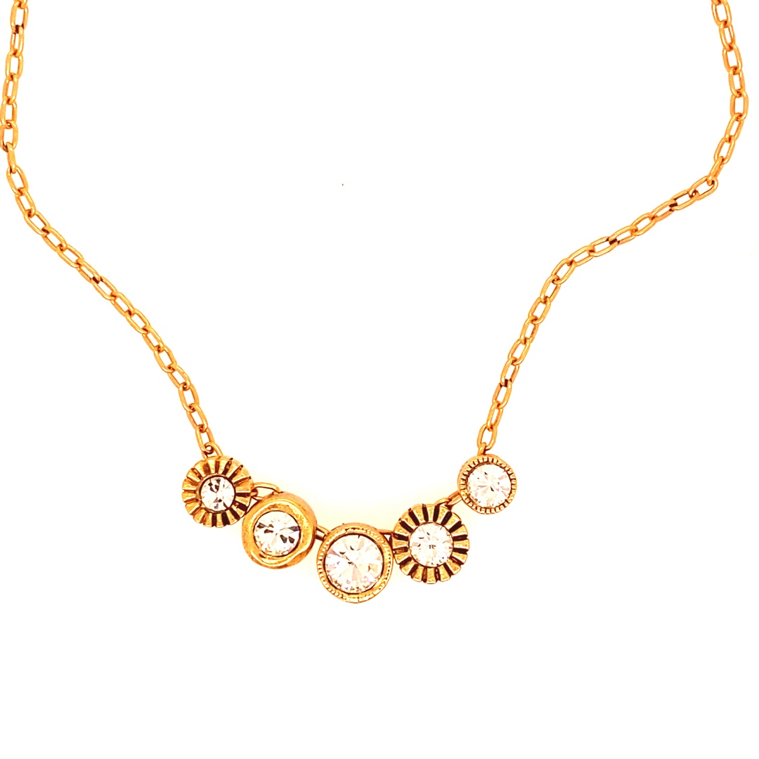 Pennies from Heaven in Gold, All Crystal