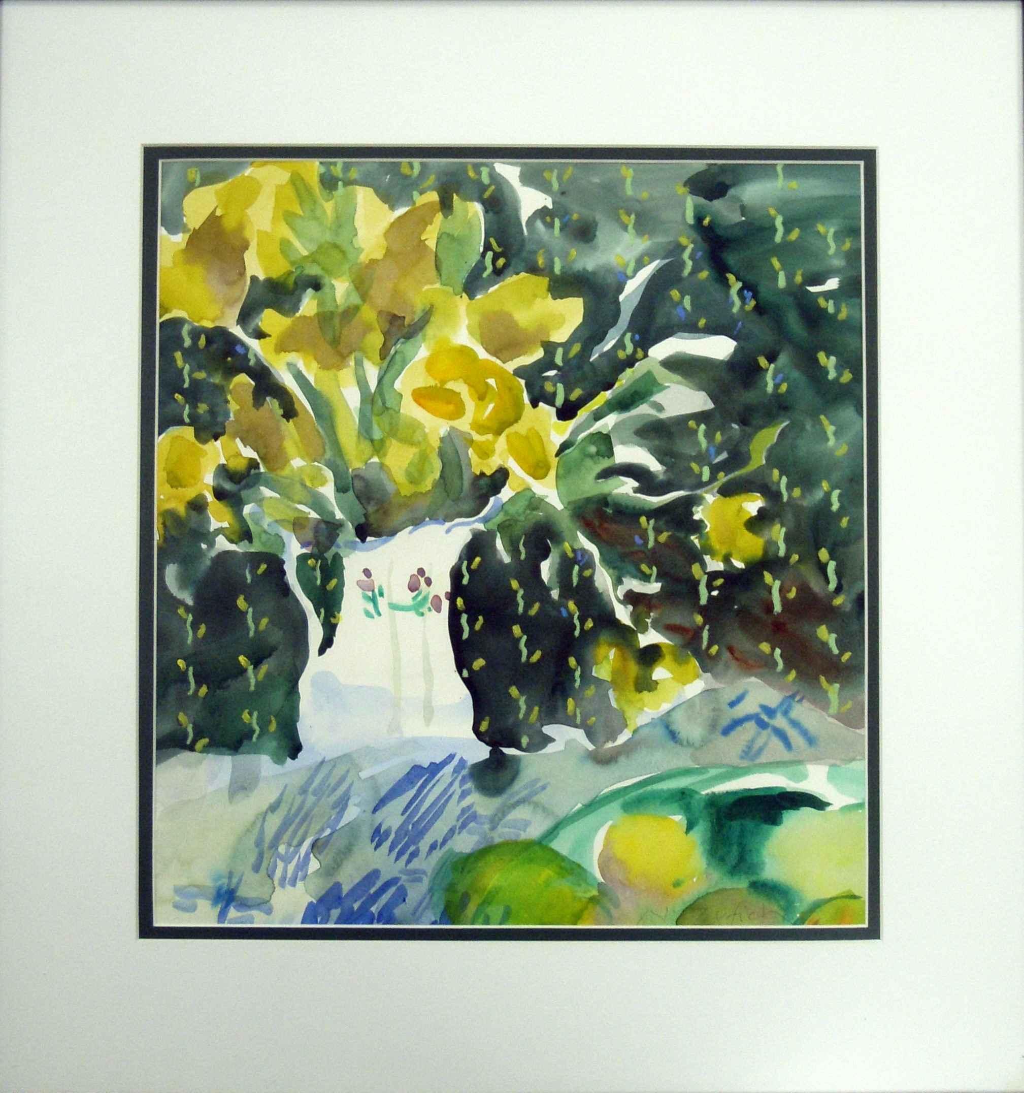 Still life yellow by  Nancy Zufich - Masterpiece Online