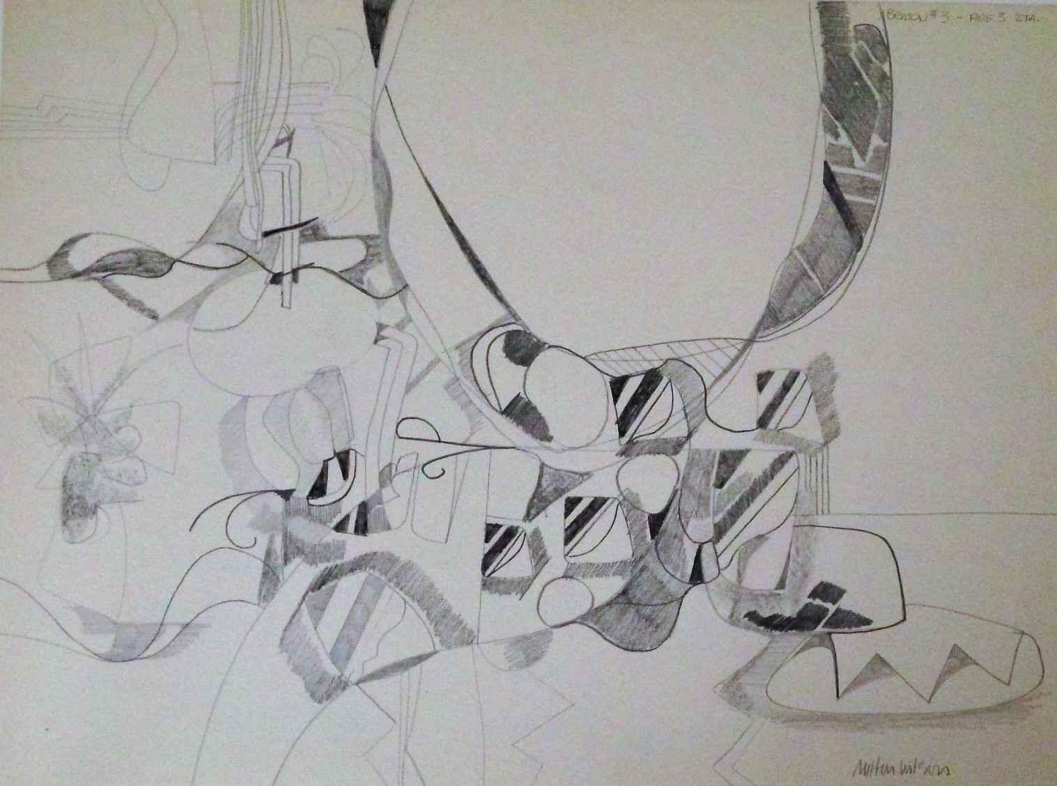 Untitled (Benton #3-R... by  Milton Wilson - Masterpiece Online