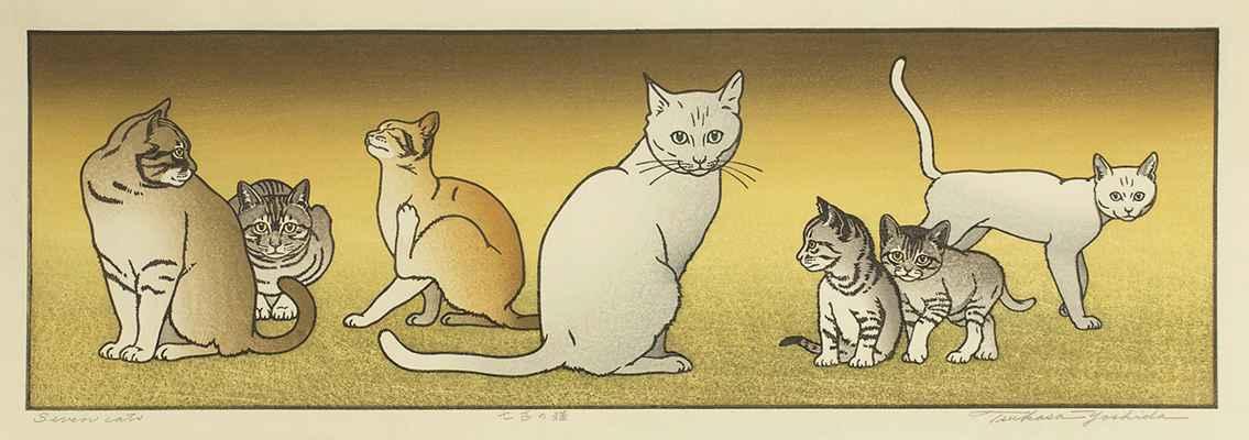 Seven Cats by  Tsukasa Yoshida - Masterpiece Online