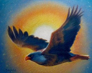 Sunlit Eagle