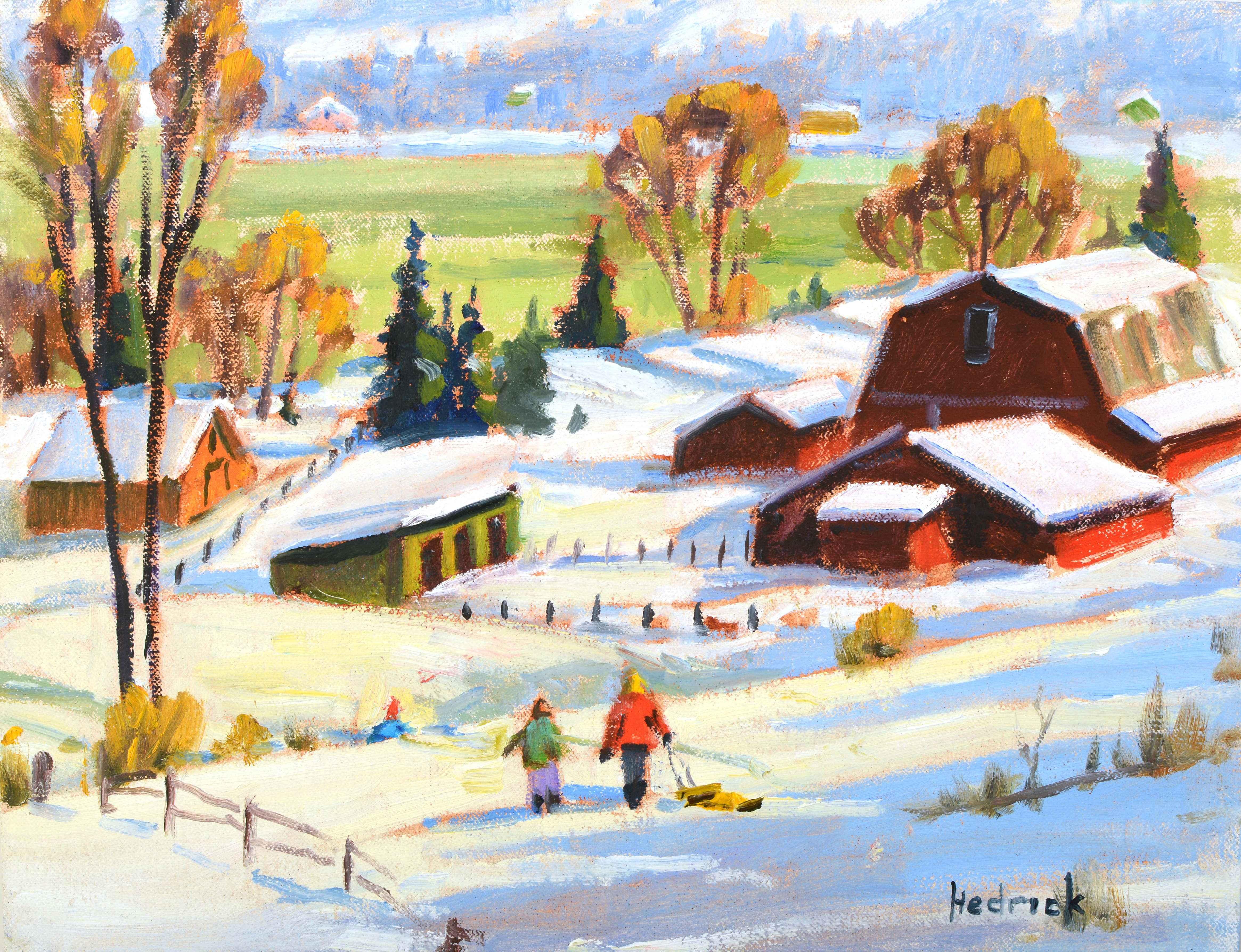 Rural Sledding
