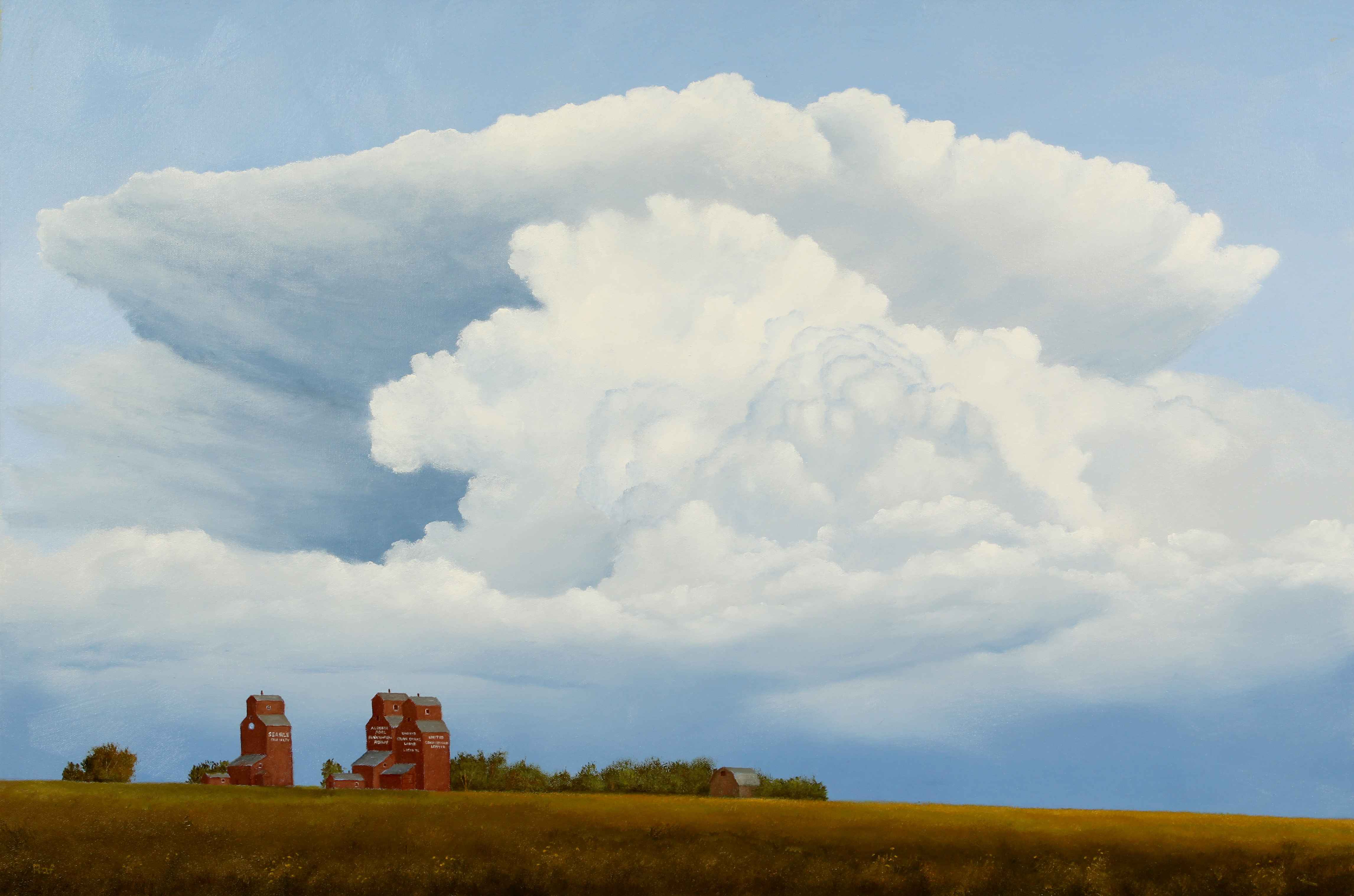July Thunderstorm by  Ted Raftery - Masterpiece Online