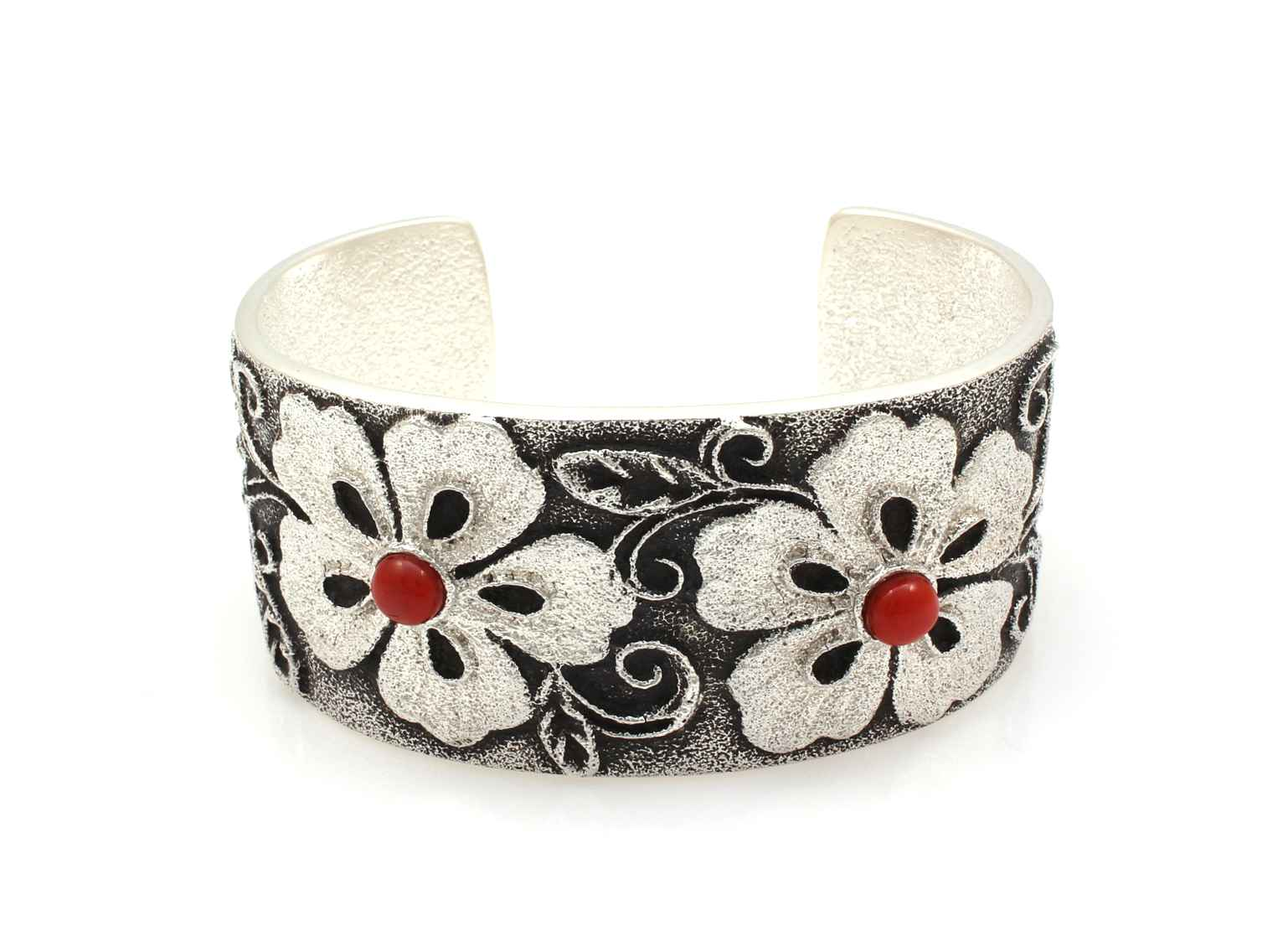 Floral Cuff Bracelet ... by Mr. Darryl Dean & Rebecca Begay - Masterpiece Online