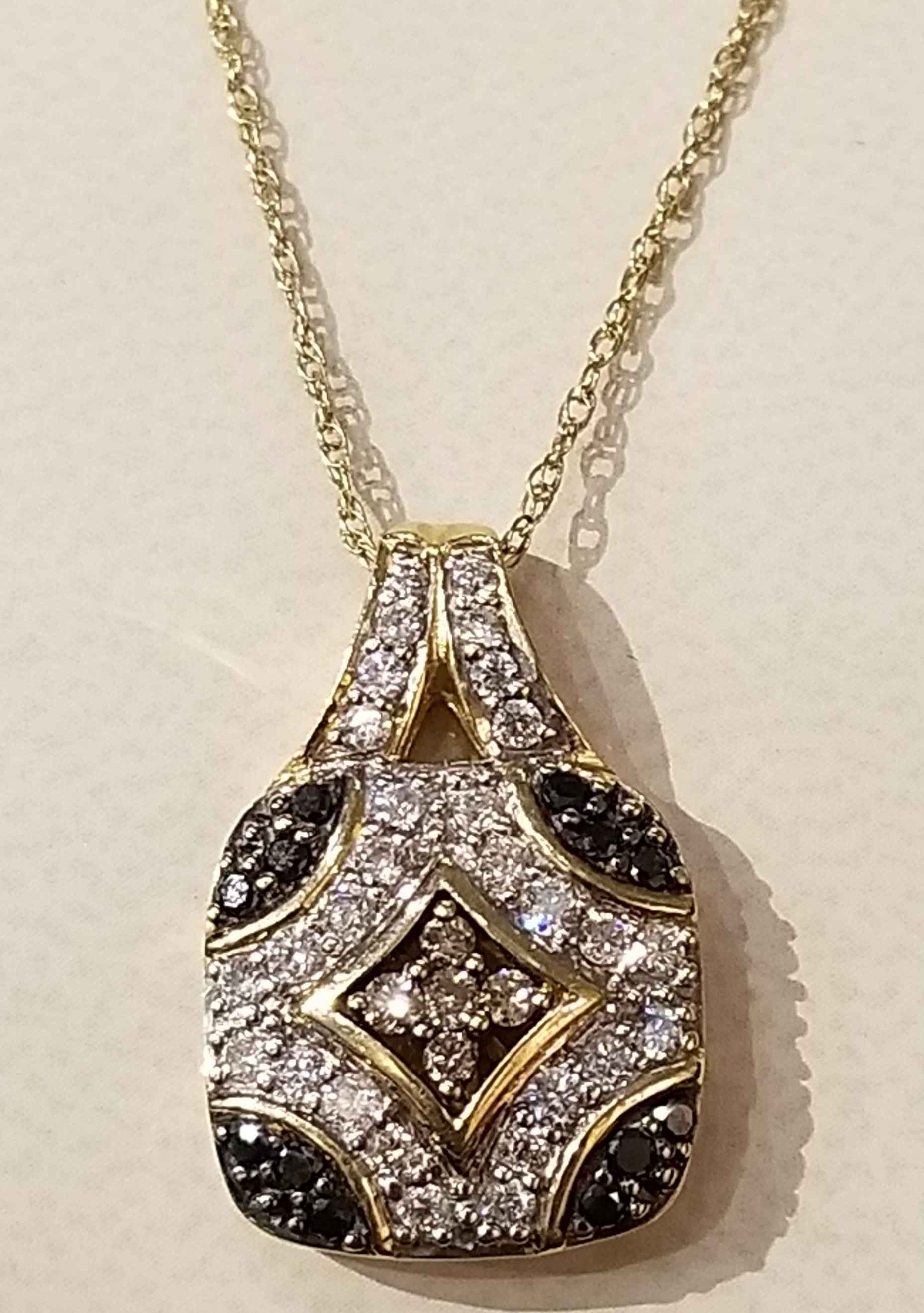 Diamond - Sapphire Ne... by  My Jeweler - Masterpiece Online