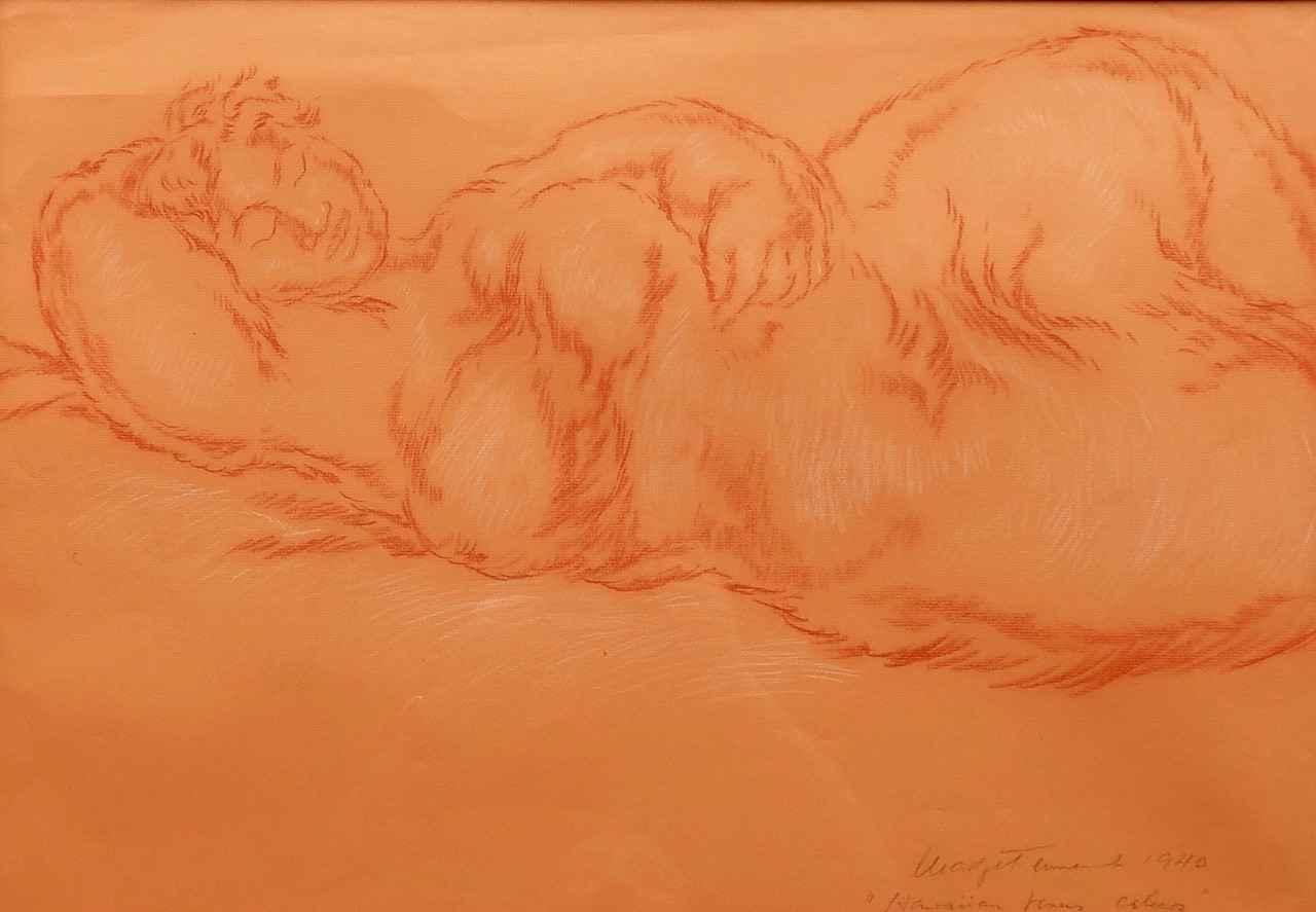 Hawaiian Venus Asleep by  Madge Tennent (1889-1972) - Masterpiece Online