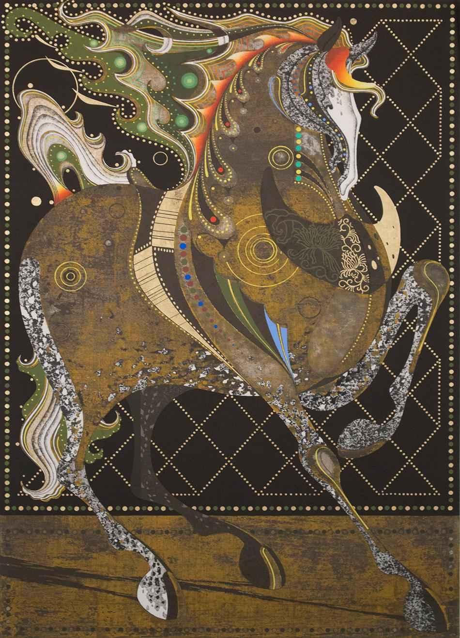 Dancing Stallion B by  Tadashi Nakayama - Masterpiece Online