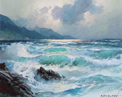 Big Sur by  A. Dzigurski Sr.  - Masterpiece Online