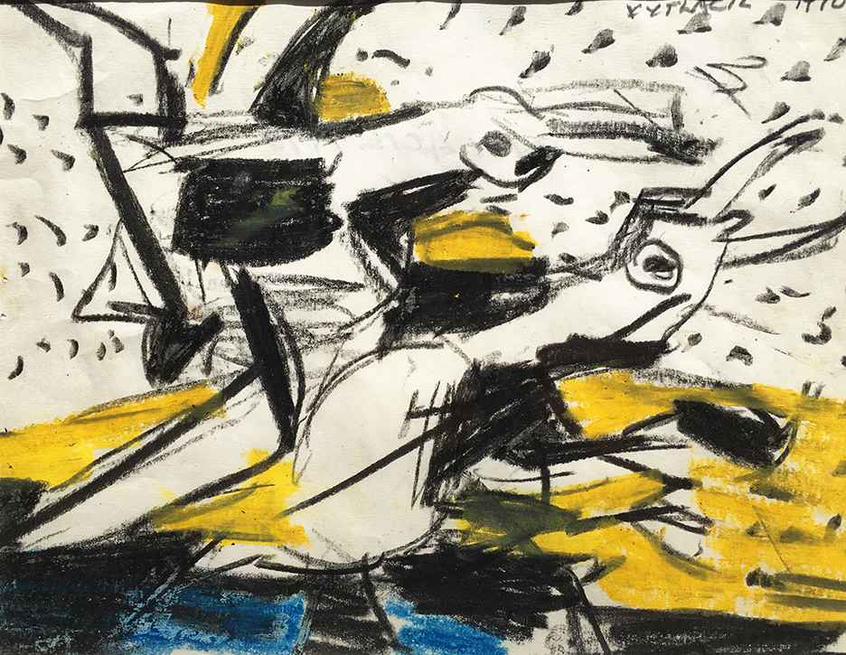 Two Gulls III, 1970 by  Vaclav Vytlacil - Masterpiece Online