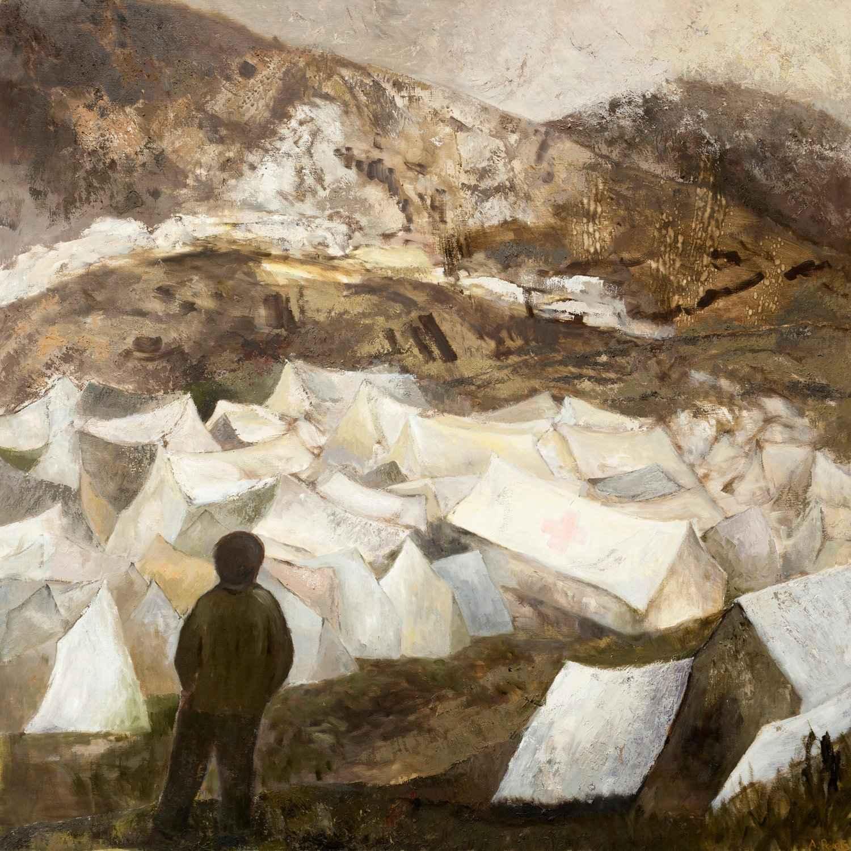 Macedonia Refugee Camp by Ms. Anne Peretz - Masterpiece Online